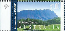 Australia 2002 $1 International Mt Roland Tasmania 1 Kangaroo Reprint:Left