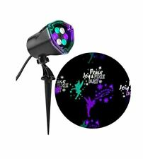 New Disney Tinkerbell Fairy Led Projection Reflector Spotlight Multi-color 3