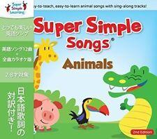 Super Simple Songs Animale Seconda Edizione CD Bambini Ragazzi Inglese