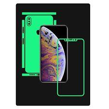 Apple iPhone XS Max, Glow in Dark Skin Protector,Full Body Vinyl Decal Case Wrap