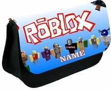 ROBLOX #1 Personalised Pencil Case, make up bag, school any name