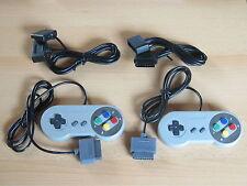 2 Controller 2x Verlängerung für Super Nintendo - SNES Joypad Gamepad NEU