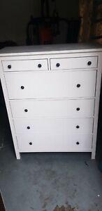 ikea hemnes chest of drawers white 6 drawers