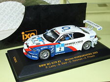 BMW M3 GTR Nurburgring 2005 LAMY IXO GTM032