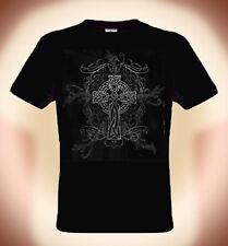 Camiseta Cruz Celta ,Tallas; S XXXL (hasta 5XL Posible, Recargo