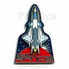 Disney - WDW - Mission Space X -2 Shuttle 3D Pin