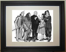 The Wizard of Oz Cast Judy Garland  Cowardly Lion Tin Man Framed Photo Picture