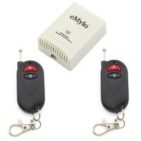 DC 24V 2CH Relay Wireless RF Remote Control Switch 2 Transmitter and Receiver
