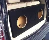 Custom Ported / Vented Sub Box Subwoofer Enclosure for a Cadillac Escalade