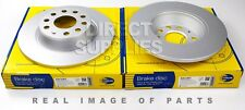 2X REAR AXLE BRAKE DISCS FOR AUDI Q3 SKODA SUPERB YETI VW PASSAT COMLINE ADC1467