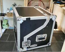 """Winkelrack 3/6/2/1 HE Winkelcase Workstation L-Rack Flightcase 19"""" DJ Case"""