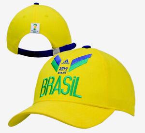 Brazil 2014 FIFA World Cup ADIDAS Adjustable Futbol Soccer Neymar Hat Cap