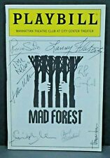 Mad Forest Cast Hand Signed Autographed Playbill
