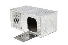RMP Port-A-Dog Box - 2 Dog T462 (330603) Aluminum Metal Small to Large Dog