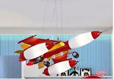Luminaires de maison rouge en métal pour enfant
