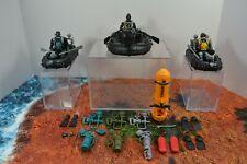 Action Figure Gun Boat Custom Lot Zodiac Accessories Gi Joe 3 3/4 3.75 Navy Seal