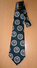 Vintage 1970's TAMARL by GRAMA Farm Picture Scene Long Green Neck Tie - New