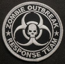 ZOMBIE HUNTER GITD OUTBREAK RESPONSE TEAM USA SWAT VELCRO® BRAND FASTENER PATCH