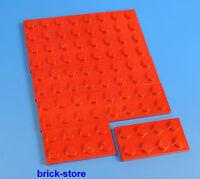 LEGO NR- 302021/2X4 PIASTRE Rosso / 10-pc