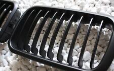GRILL KÜHLERGRILL SET für BMW E36 91-96 VORFACELIFT SCHWARZ MATT NIEREN-ERSATZ