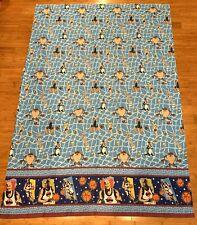 Vtg 1996 Warner Bros Looney Tunes Space Jam Michael Jordan Twin Flat Bed Sheet