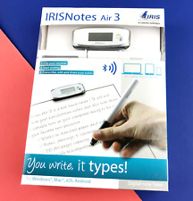 New IRIS IRISNotes Air 3 Win/MAC/iOS/Android Digital Note Taker Pen #1090