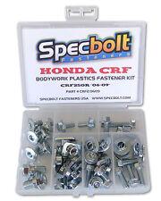 "Honda CRF250R Full Bodywork & Plastics Body Bolt Kit ""06-09"" Specbolt #CRF20609"