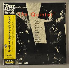 VARIOUS The Quintet Jazz @ Massey Hall JAPAN '06 Orig Mini LP CD OBI VICJ-41561