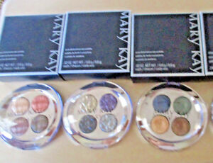 Mary Kay ~ Pure Dimensions Eye Palette Compact ~ 4 colors in each ~ YOU CHOOSE