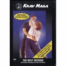Krav Maga the Best Defense Dvd self idf Israeli Military Yanilov Levine chokes