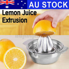 AU Orange Hand Press Commercial Manual Citrus Fruit Lemon Juicer Juice Squeezer