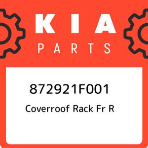 872921F001 Kia Coverroof rack fr r 872921F001, New Genuine OEM Part