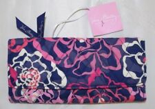 VERA BRADLEY TRIFOLD WALLET - KATALINA PINK & NAVY - Brand New with Tag
