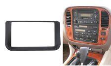 Radio Fascia for Lexus LX470 Toyota LC100 2 Din Stereo Panel Trim Kit Frame