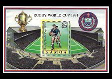 SAMOA. Rugby World Cup. 1991 Scott 792. MNH (BI#12)