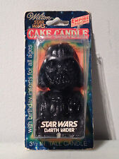 1980 Wilton Star Wars Empire Strikes Back Darth Vader Birthday Cake Candle New