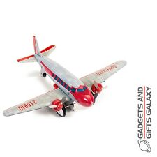 DC-3 AIRPLANE COLLECTIBLE TIN AEROPLANE MODEL collectors toy gift novelty adults