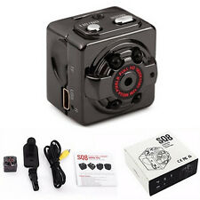 Mini DV Camera 1080P Full HD Car Sports IR Night Vision DVR DC Video Recorder BD