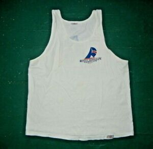 Vtg 90s Crazy Shirts ROYAL HAWAIIAN YACHT CLUB TANK TOP Sailing Shirt Women's L