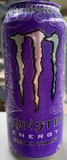 NEW MONSTER ENERGY ULTRA VIOLET DRINK 16 FL OZ FULL CAN ZERO SUGAR & CALORIES