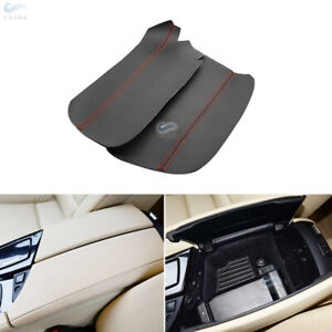 Inner Center Console Armrest Micro Leather Cover For BMW 5 Series F10 2011-2017