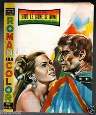 ▬►Roman Film Color SOUS LE SIGNE DE ROME  ANITA EKBERG_GEORGE MARCHAL
