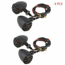 4 Pcs Motorcycle Bullet Amber Turn Signal Lights Indicator for Yamaha Suzuki KTM