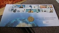 GB - EXTREME ENDEAVOURS £1.00 COIN COVER - 27 AUG 2003 LOW LTD EDITION NO.19441