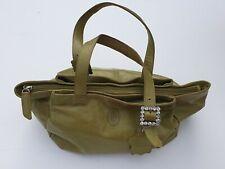 Smith & Canova Ladies Handbag Genuine Real Leather Green