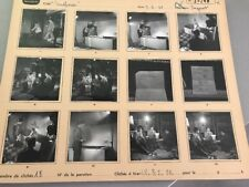 MIREILLE DARC («SUSPENSE») : PLANCHE CONTACT ORIGINALE DE 1961