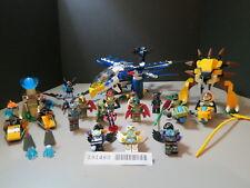 Lego 26 pc. Eris Eagle and Speedor Tournament sets Glued Read Description!