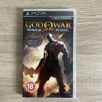God Of War Ghost Of Sparta Sony PSP COMPLETE Tested UCES-01473 PAL