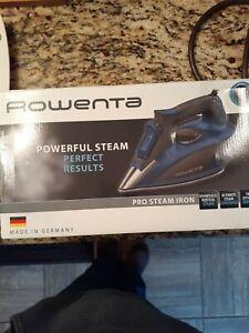 New Open Box Rowenta Pro Steam Iron