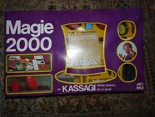 """VDS VINTAGE COLLECTOR """"MAGIE 2000"""" KASSAGI COMPLET ? JUSTE BOITE GONDOLEE"""